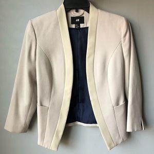 H&M Beige Blazer Size 6